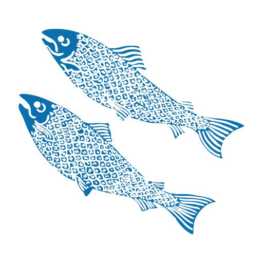 Two fish illustration
